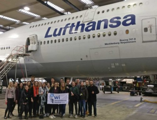 Exkursion Lufthansa Technik 2019